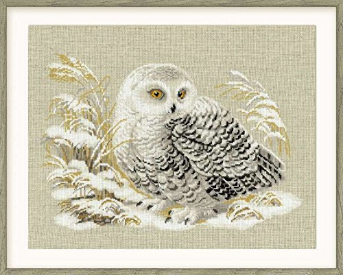 Riolis White Owl Cross Stitch Kit by Riolis