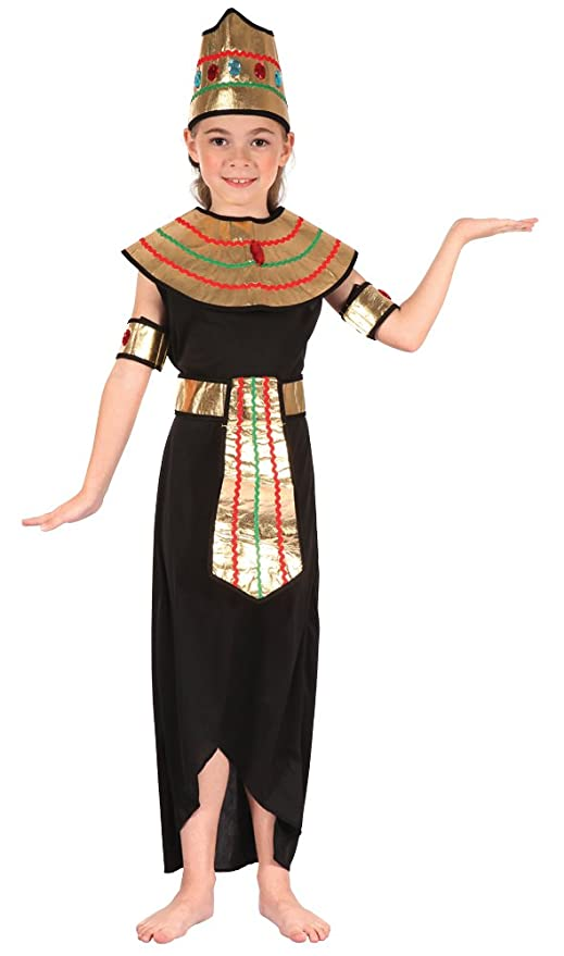 Bristol Novelty cc313 Reina del Nilo Disfraz infantil de (tamaño ...