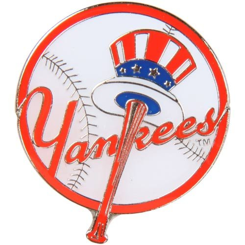 Logo Pin - aminco MLB New York Yankees Logo Pin