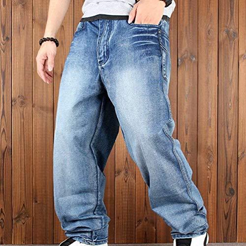 Moda Estivi Da Blau Fashion Pantaloni Con Di Ufige Retro Hip Strappato Pantaloncini Rigogliosi Larghi Jeans Alla Marca Mode Uomo Cargo hop Rc6q77xFa0