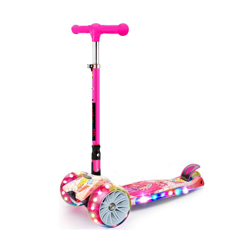Patinete- Kick Scooter 4 Wheel Flash con música 2-12 años ...