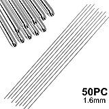 Easy Aluminum Welding Rods Foviza Low Temperature No Need Solder Powder (50 Pcs, 1.6mm)