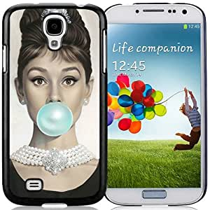 Audrey Hepburn Hottest Customized Design Samsung Galaxy S4 Cover Case