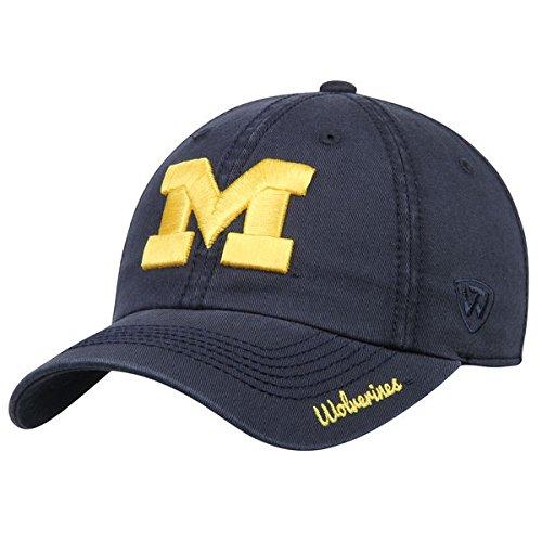 良さ操縦する犯すMichigan Wolverines Top of the WorldレディースクルーAdjustable Hat – Navy