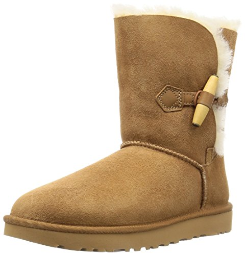 UGG Australia Woman Ankle Boot Chestnut Suede Code W Keely 1012362 W Brown hfKSuZXQ3