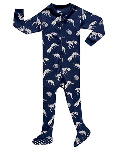 KikizYe Infant Baby Boys Footed Pajamas