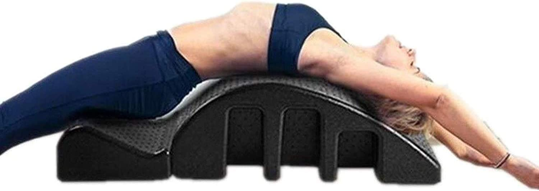 YF-SURINA Equipamiento deportivo Cama de masaje Órtesis espinal, Corrector de vértebra cervical Pilates Yoga Masajes Cama Corrección espinal Arco