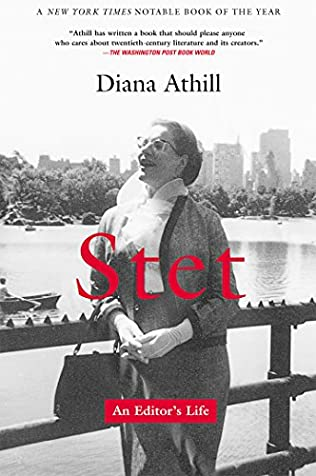 book cover of Stet