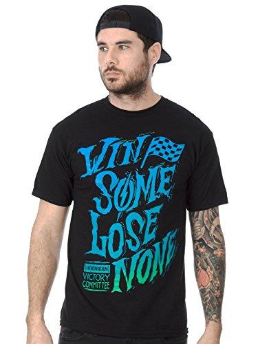 Hoonigan T-Shirt Win Some Schwarz