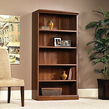 Sauder 101785 Planked Cherry Finish Camden County Library by Sauder