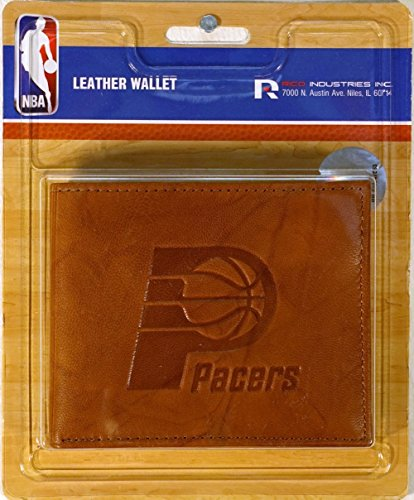 Rico Indiana Pacers NBA Embossed Leather Billfold (Rico Indiana Pacers Leather)