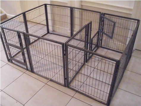 Margothedog 2012 LARGE Whelping Cage 192cm x 192cm, Internal & External Door & Roof