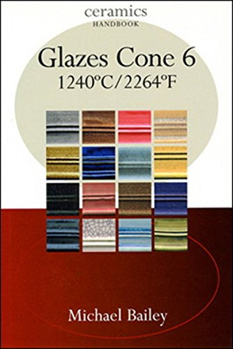 Glazes Cone 6: 1240 C / 2264 F (Ceramics Handbooks)
