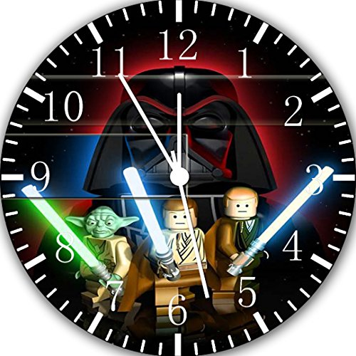 Star Wars Frameless Borderless Wall Clock W412 Nice for Gift or Room Wall Decor
