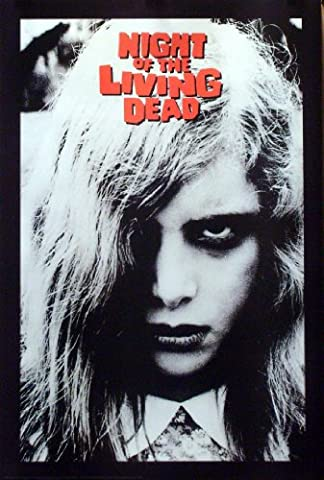 Night Of The Living Dead 24x36 Movie Poster (Classic Scary Movie Posters)