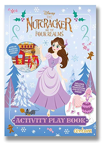The Nutcracker and the Four Realms Press-Out Activity Book