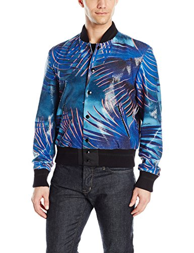 Just-Cavalli-Mens-Sequined-Palm-Bomber-Jacket