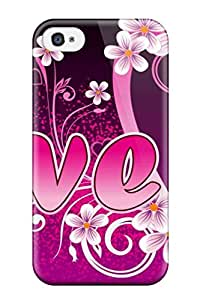 Perfect Artistic Unusual Animated Love Case Cover Skin For Iphone 4/4s Phone Case
