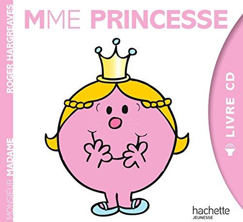 Monsieur Madame Livre Cd Mme Princesse 9782012205949