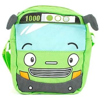 Little Bus Tayo Kids Cross Bag - Rogi (Green)