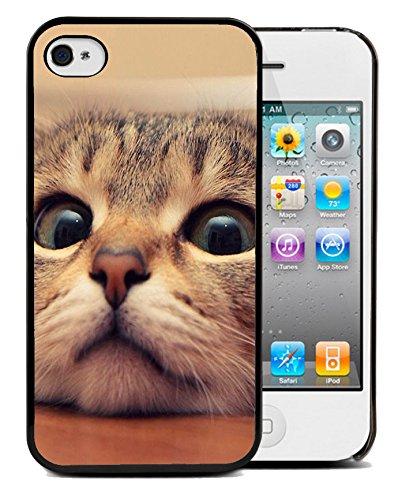 Coque silicone BUMPER souple IPHONE 5c - Chat cat animal adorable minion motif 4 DESIGN case+ Film de protection OFFERT