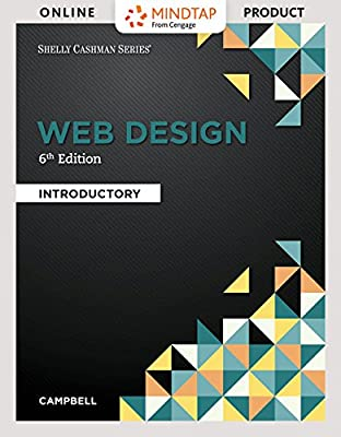 MindTap Web Design & Development for Campbell's Web Design: Introductory, 6th Edition