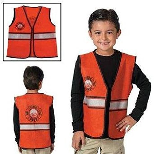 Fun Express Nonwoven Polyester Firefighter Vest (Fun Group Costumes)