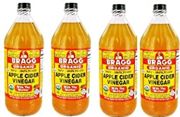 Bragg Organic Vinegar - Apple Cider - 32 oz - 4 pk