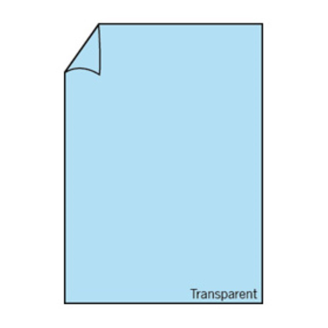 Rössler Papier - - Paperado-Karton DIN A4, transp. transp. transp. Hellblau - Liefermenge  50 Stück B07CX7Q1HQ   Online Store  6193da