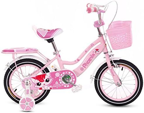 183964ba5b5 Fenfen Children s Bicycles 2-4-6 Year Old Baby Bike 12 14 16 18 Inch Girl  Baby Stroller Kids Bike Pink (Size   18 inches)