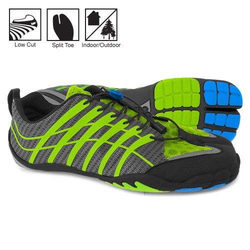Zemgear Mens Terra Tech Shoes Footwear M11 Black Green