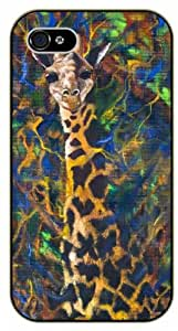 Camouflage Giraffe - iPhone 5C black plastic case / Animals and Nature