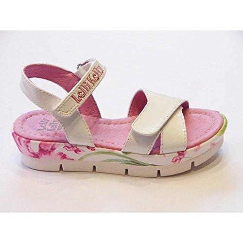 Lelli Kelly LK9438 (FA01) Peggy Vernice Bianco Sandals-32 (UK 13)