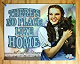 Wizard of Oz Tin Metal Sign : No Place Like Home