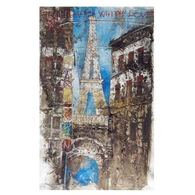 Sterling Industries 146-013 Exclusive Alberto De Serafino Painting on Canvas with Gesso (Serafino Print)