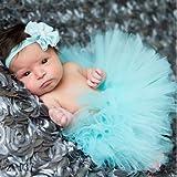 Best Newborn Outfits - Newborn Toddler Baby Girl Tutu Skirt & Headb Review