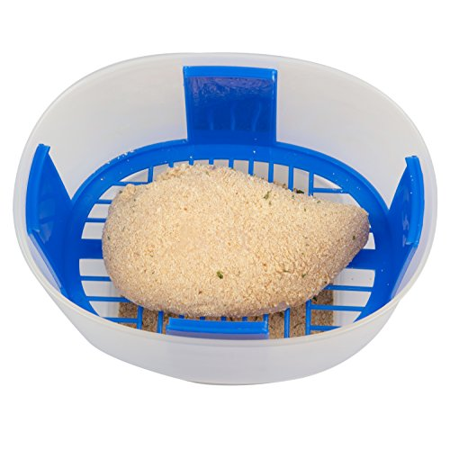 The Original Breader Bowl- All-in-One Mess Free Batter Breading at Home or On-the-Go