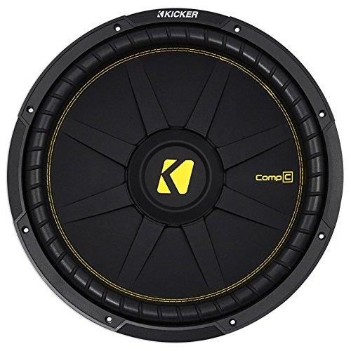 "Kicker CWCD154 CompC 15"" Subwoofer Dual Voice Coil 4-Ohm"