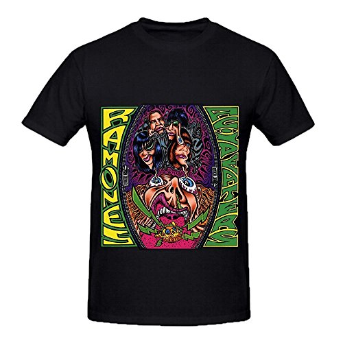 The Ramones Acid Eaters Tour Greatest Hits Mens O Neck Digital Printed Shirt (Monster High Chucky)