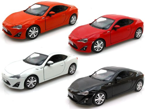 Set of 4 - Scion FR-S 1/36
