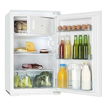Klarstein Coolzone 120 • Nevera con congelador • refrigerador de 61 l • congelador de 24 l • termostato Ajustable • 88 cm de Altura • Potencia Nominal de 80 W • iluminación Interior • Blanco