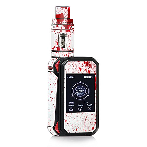 Skin Decal Vinyl Wrap for Smok G-Priv 2 230w touch screen Vape stickers skins cover/Blood Splatter Dexter