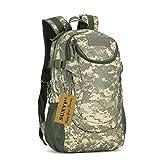 Huntvp 25L Military Backpack Rucksack Gear Waterproof Tactical Assault Pack Student School Bag for Camping Hunting Trekking Travel