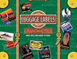 Grand Hotels Luggage Labels (Travel Stickers)