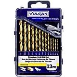 VULCAN 211560OR 13 Piece Bit Drill with Cs, 1/16-1/4'