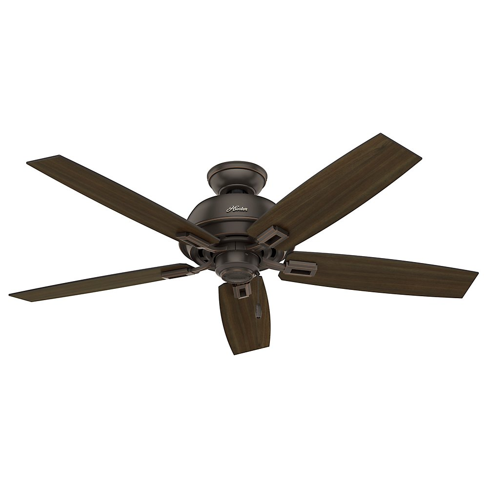 Hunter Fan Company 53333 52 Donegan Onyx Bengal Ceiling With Light Com