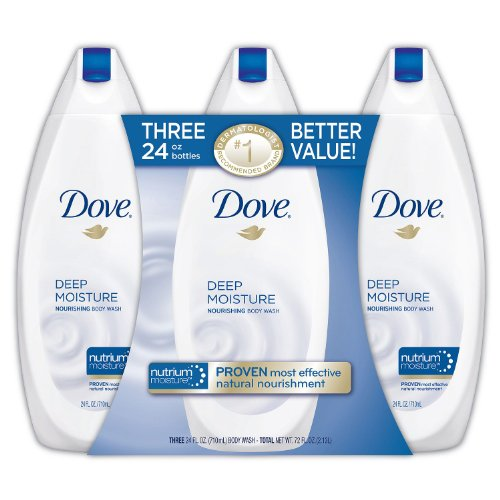 Dove Body Wash Deep Moisture 22 oz