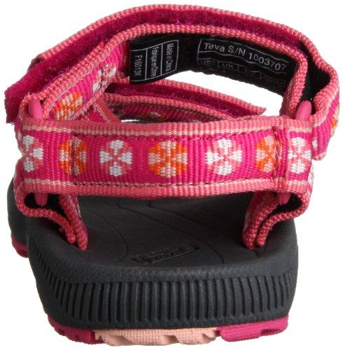 Teva Hurricane 2 Ys Unisex-Kinder Sport- & Outdoor Sandalen Pink (782 umbrella pink)