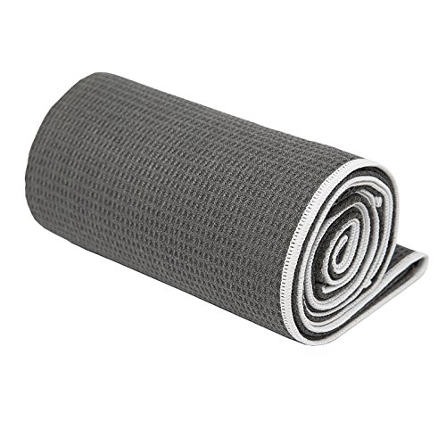 Shandali Gosweat Hot Yoga Towel, Super Absorbent, 100% Microfiber, SUEDE, Best Bikram/HOT Yoga Towel, Many Colors Available