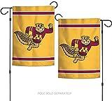 "NCAA University of Minnesota Gophers 12.5"" x 18"" Inch 2-sided Garden Flag"